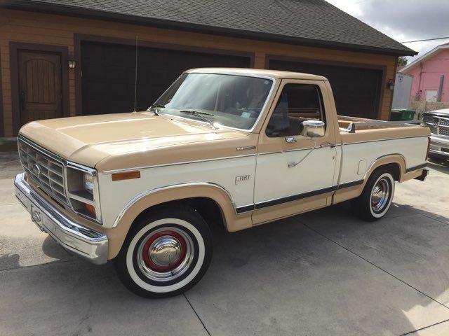 1984 ford ranger xl pickup