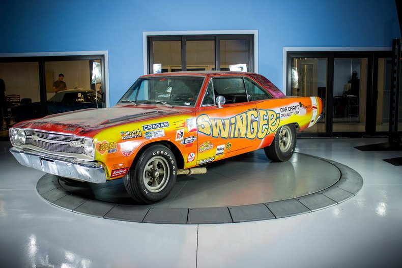 1969 dodge dart swinger nhra stock survivor