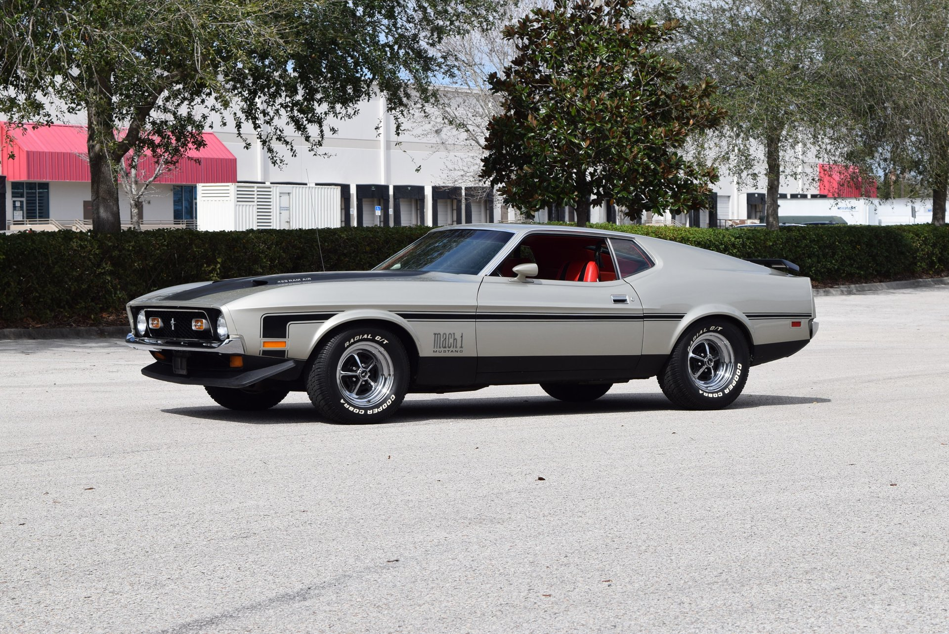 1971 ford mustang mach i fastback