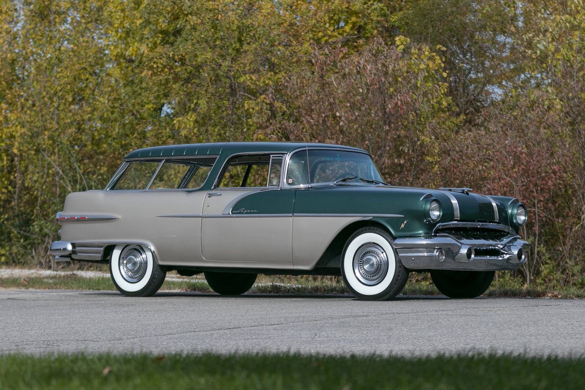 1956 pontiac safari station wagon