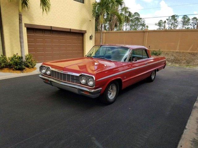 1964 chevrolet impala ss hardtop