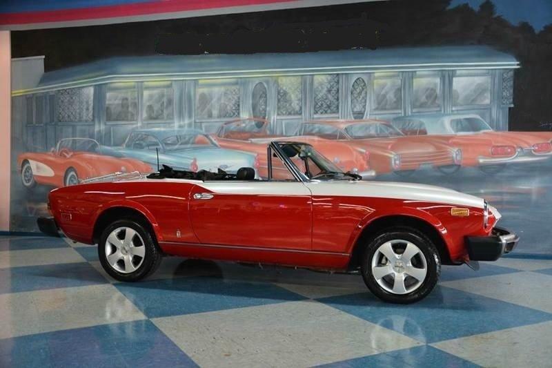 1980 fiat 2000 spider convertible