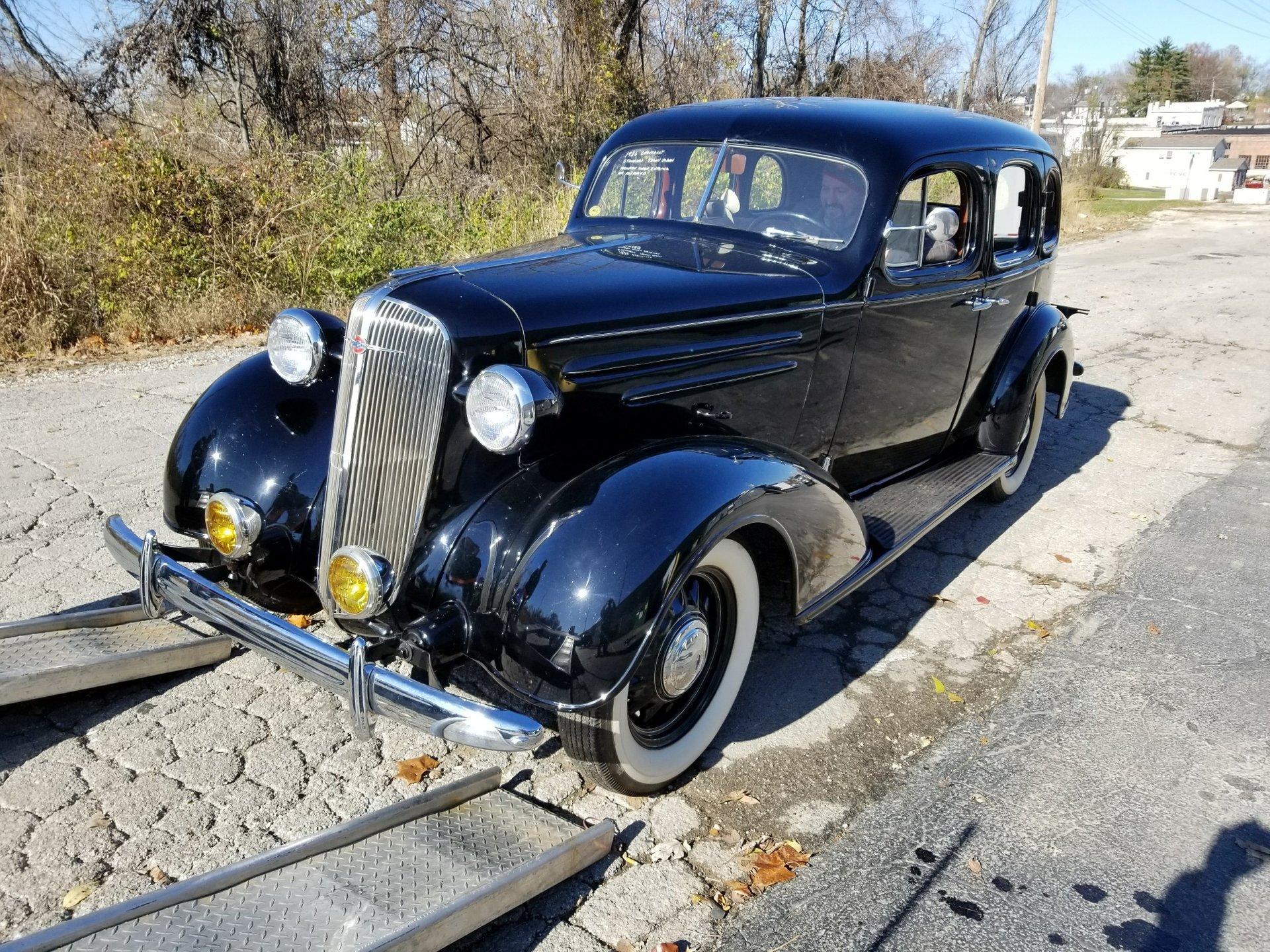 1936 chevrolet standard town sedan