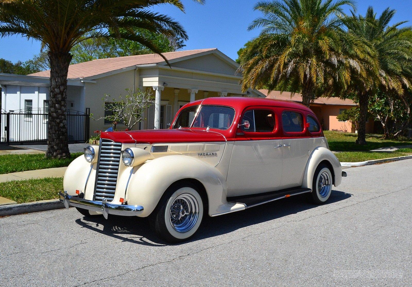 1938 packard street rod sedan