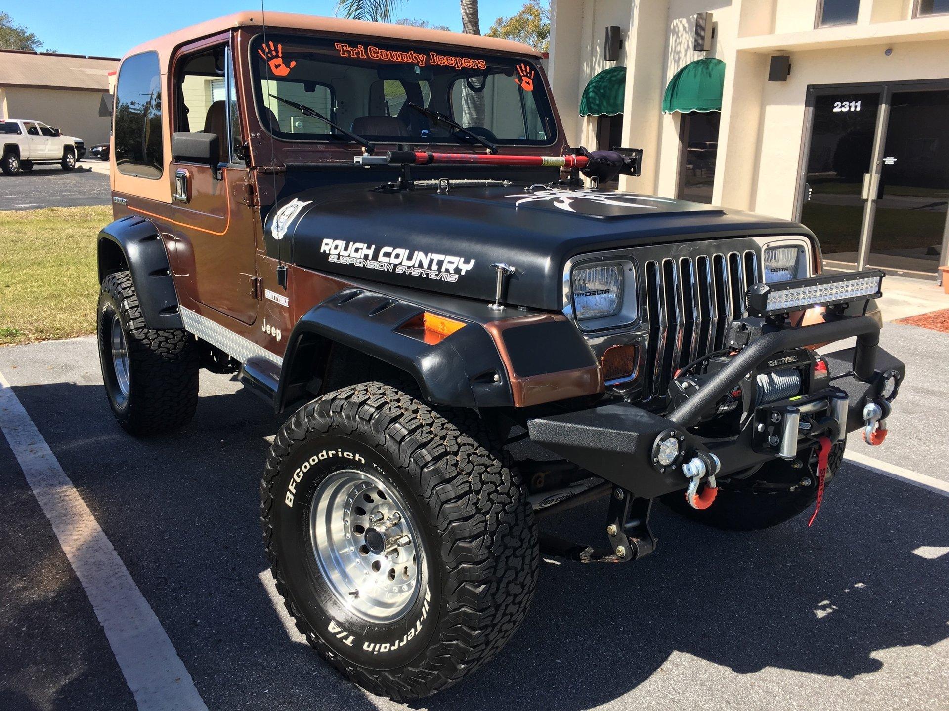 1987 jeep wrangler sport utility