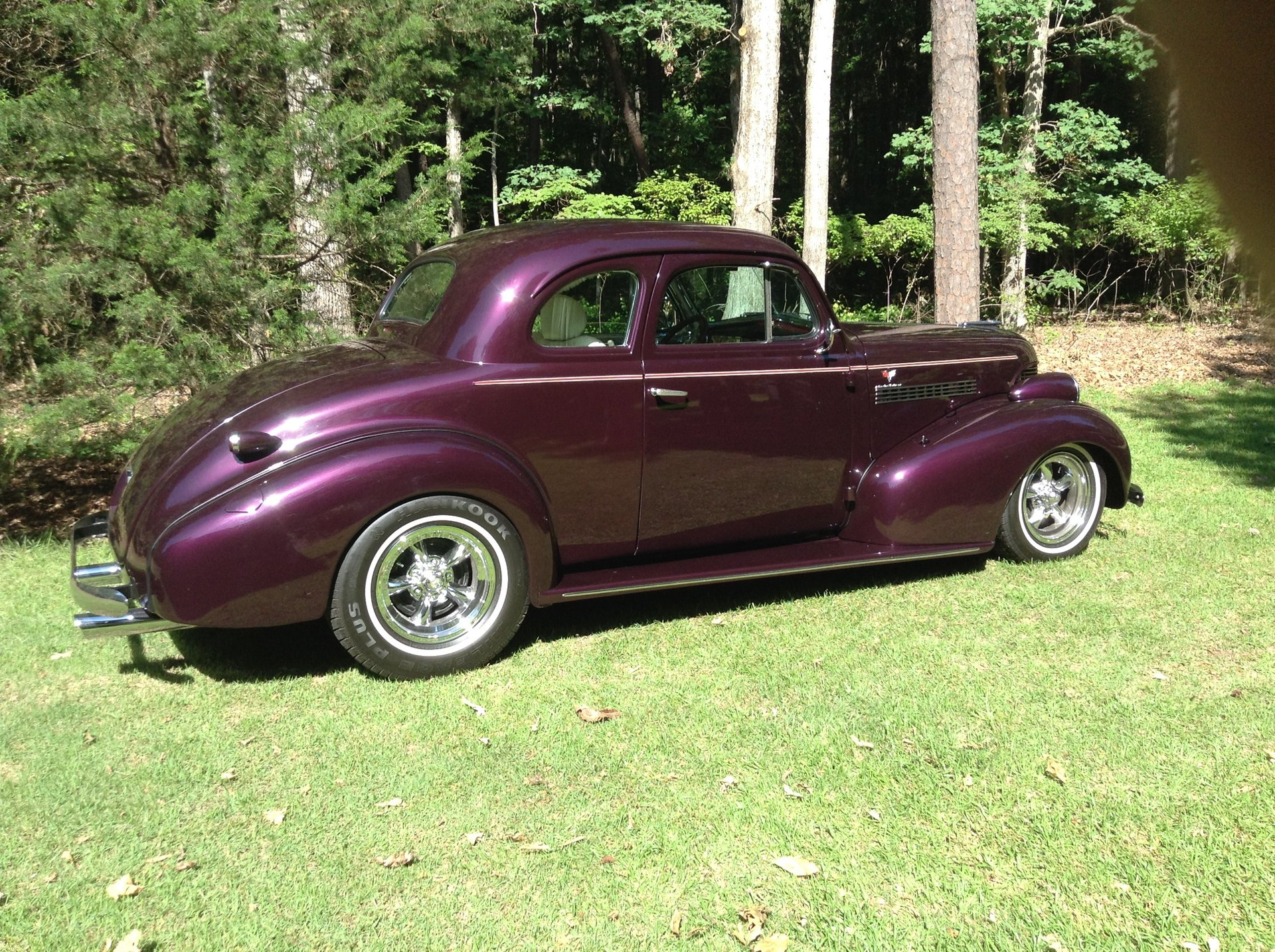 1939 chevrolet custom street rod