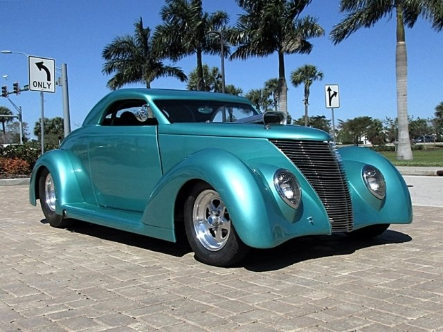 1937 ford custom street rod