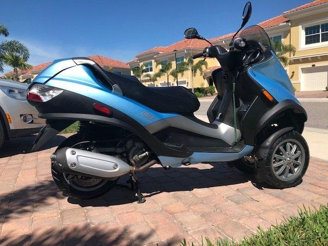 2008 piaggio mp3 250 scooter