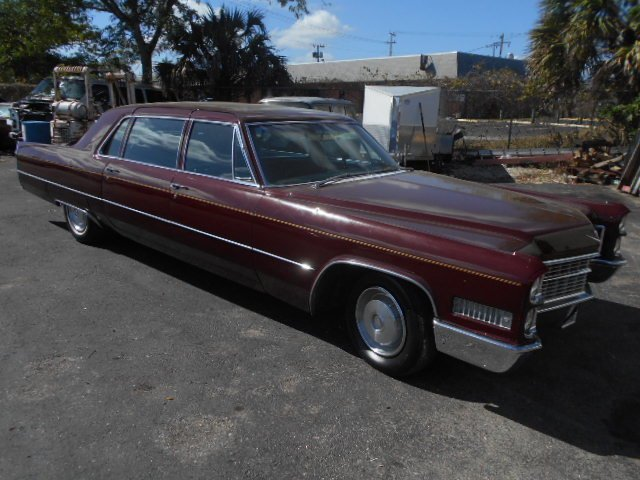 1966 cadillac fleetwood 65 executive sedan