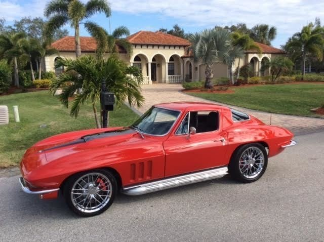 1966 chevrolet corvette restomod coupe