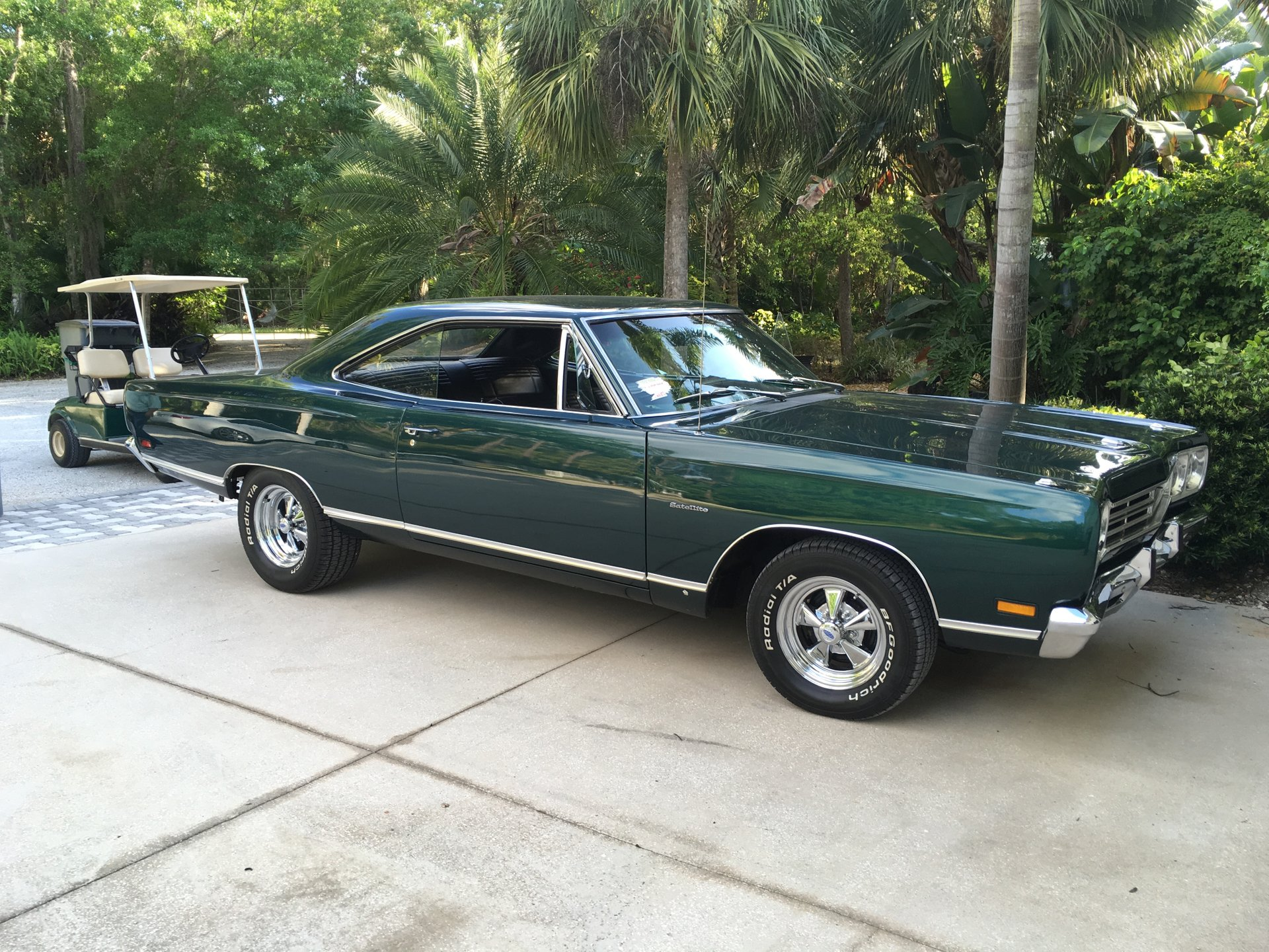 1969 plymouth satellite hardtop