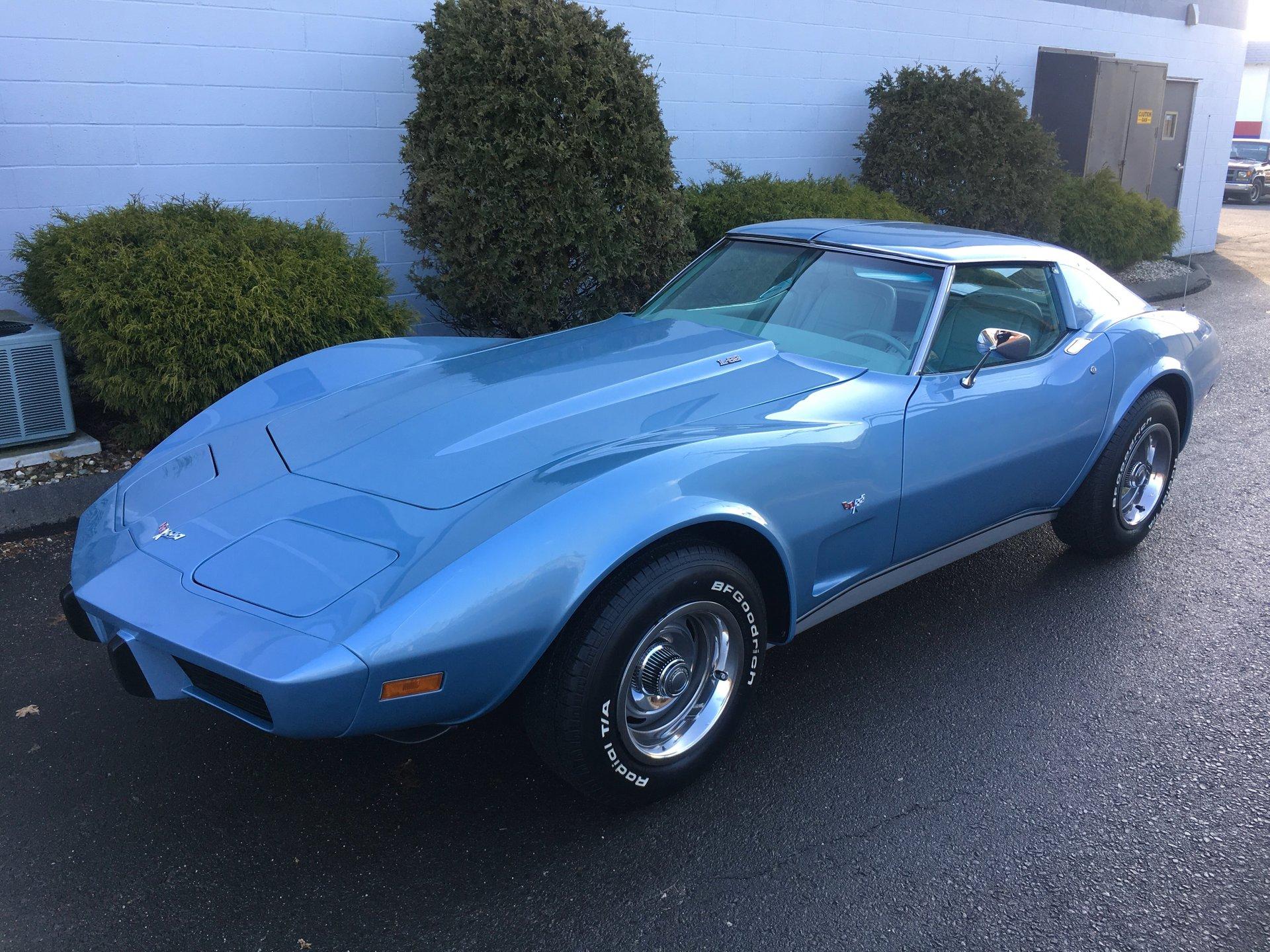 1977 chevrolet corvette t top coupe