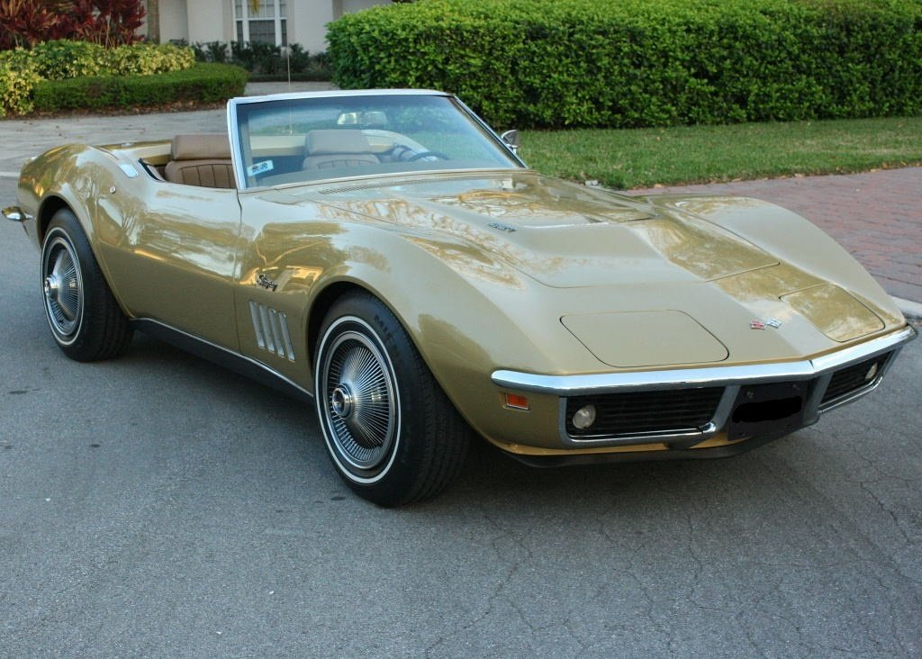 1969 chevrolet corvette l71 convertible