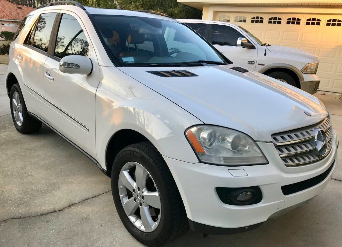 2006 mercedes benz ml500 sport utility