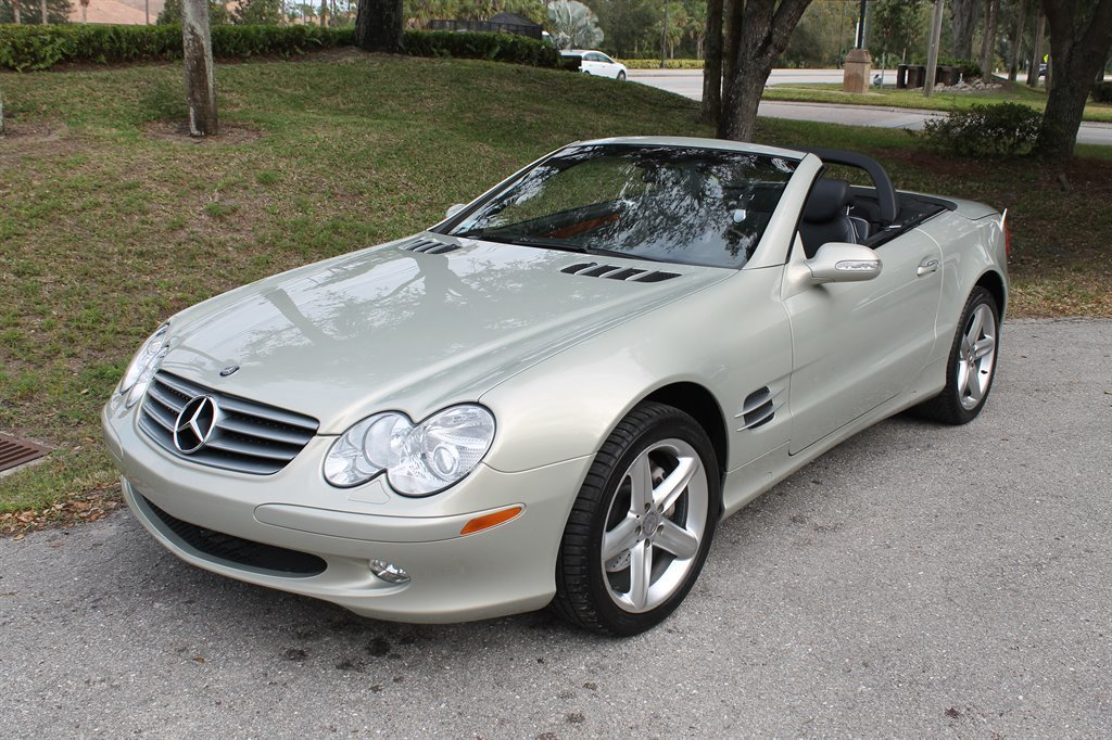 2003 mercedes benz sl500 hardtop roadster