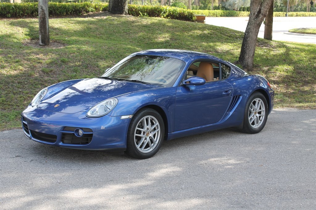 2008 porsche cayman coupe
