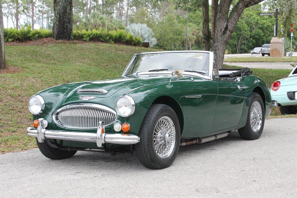 1967 austin healey 3000 mk iii convertible