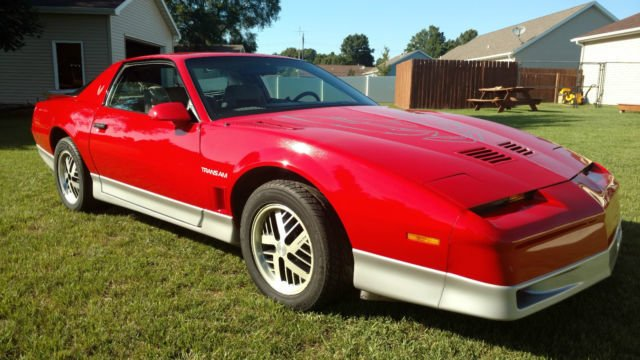 1986 pontiac trans am coupe