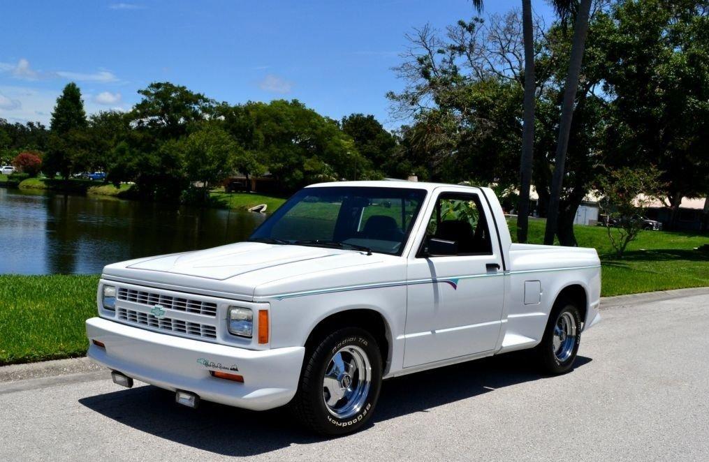 1992 chevrolet s 10 choo choo custom pickup