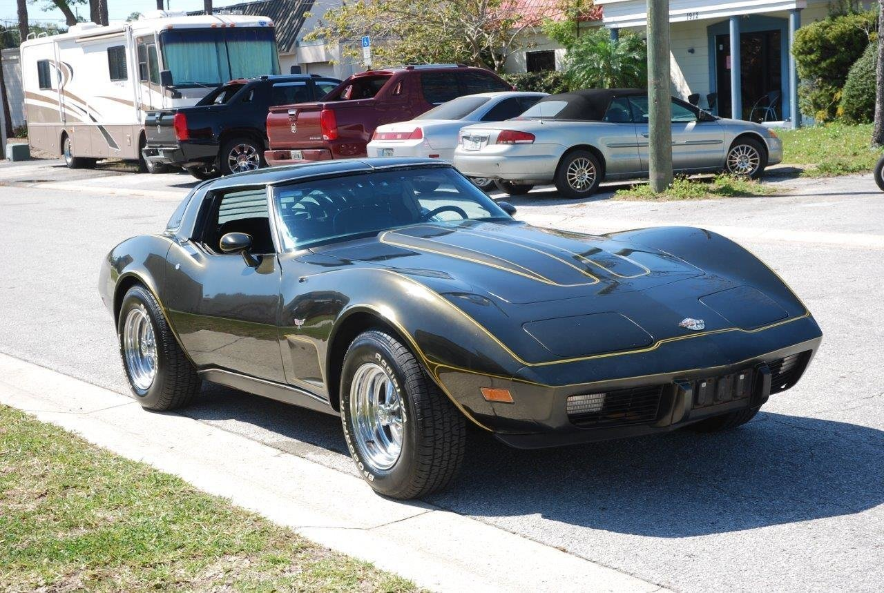 1978 chevrolet corvette t top coupe
