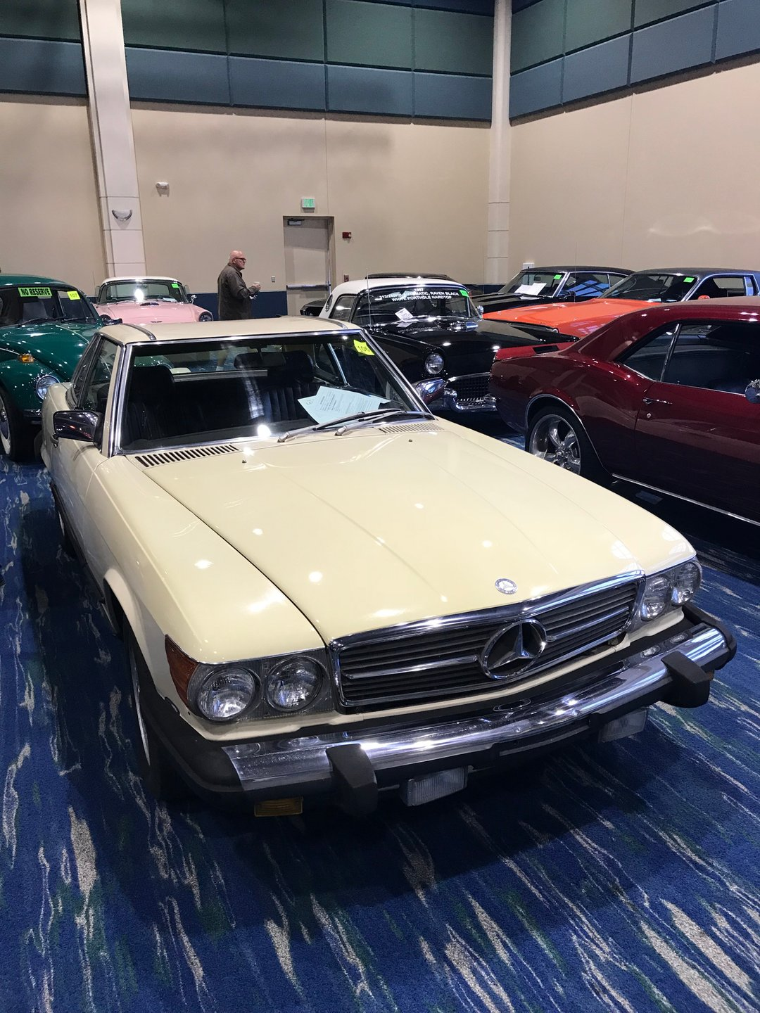 1987 mercedes benz 560 sl convertible