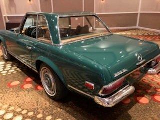 1969 mercedes benz 280sl roadster