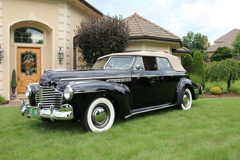 1941 buick 51c 4 door convertible