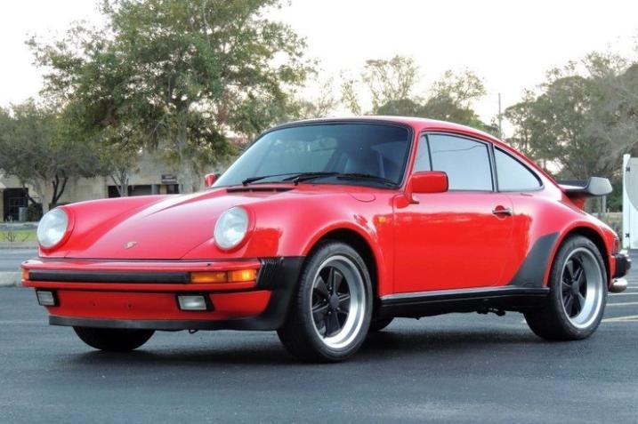 1985 porsche 911 turbo look coupe