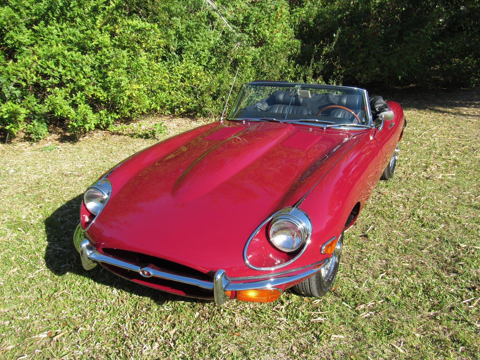 1969 jaguar series ii e type roadster