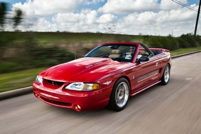1994 ford mustang cobra pace car convertible