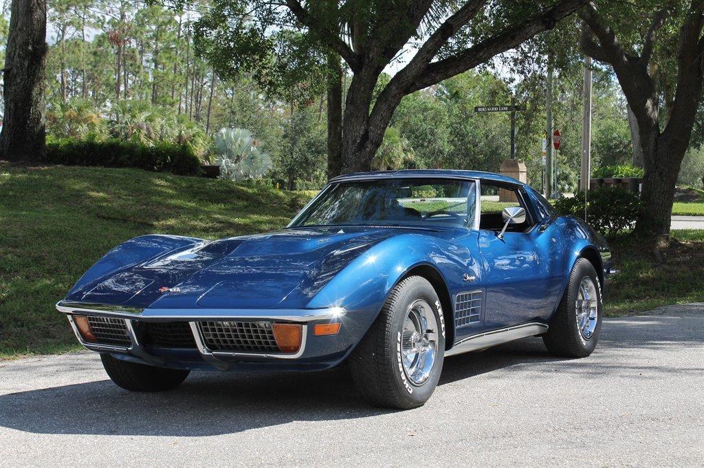 1972 chevrolet corvette 454 coupe