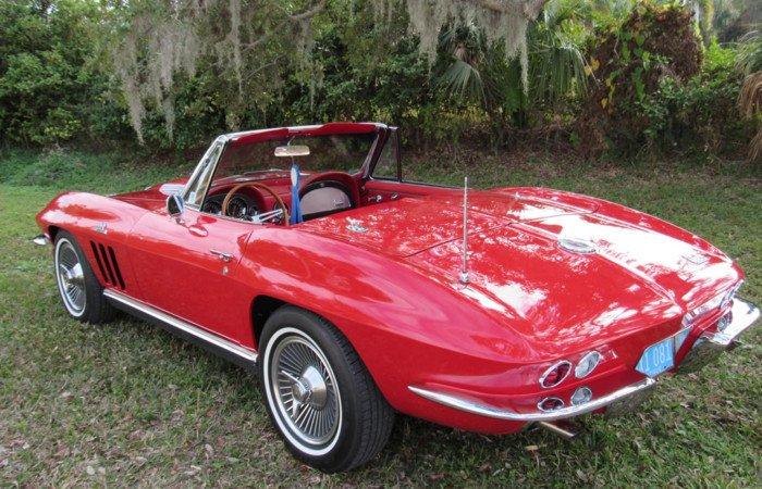 1966 chevrolet corvette 427 roadster