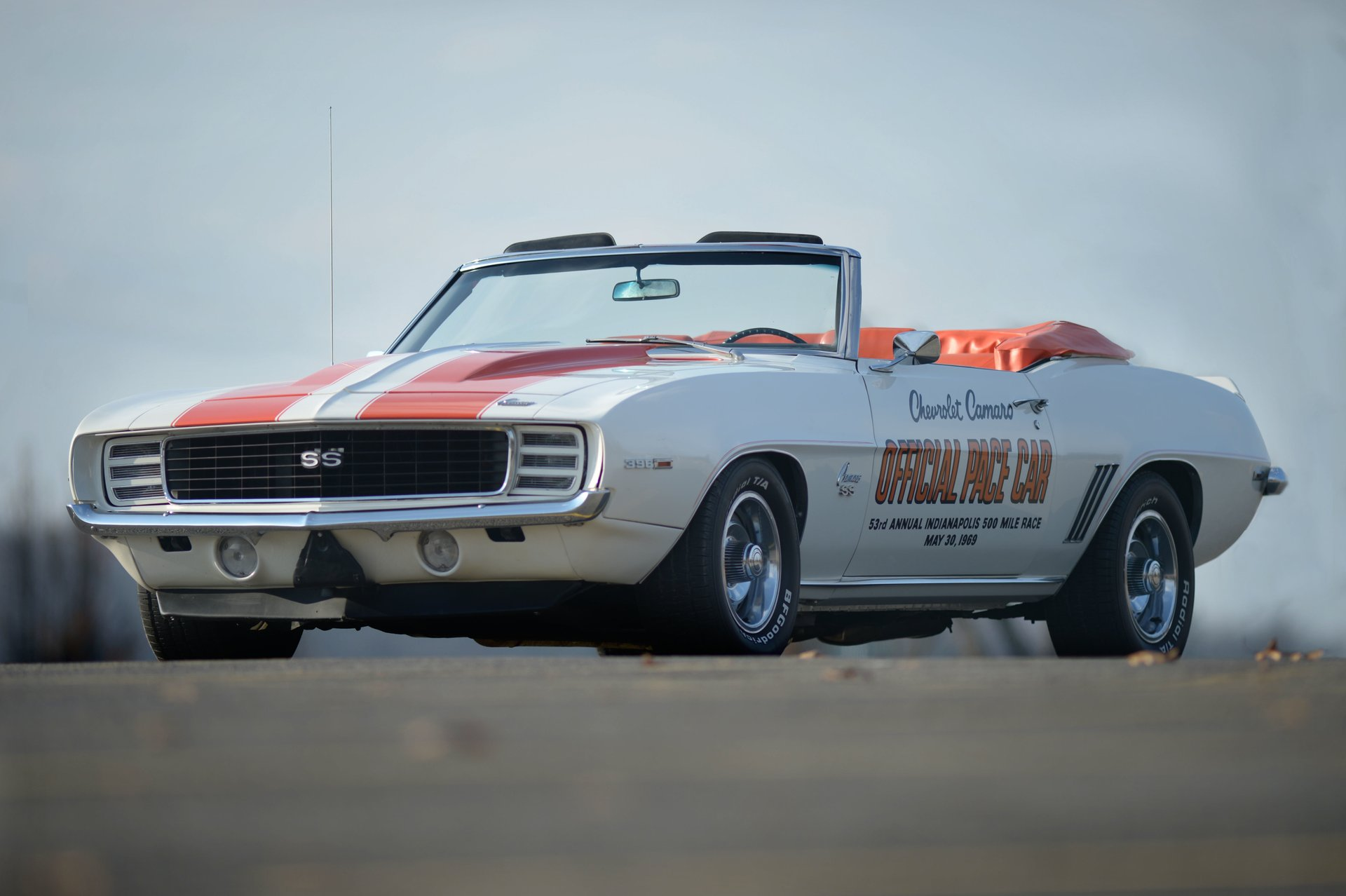 1969 chevrolet camaro rs ss indy pace car