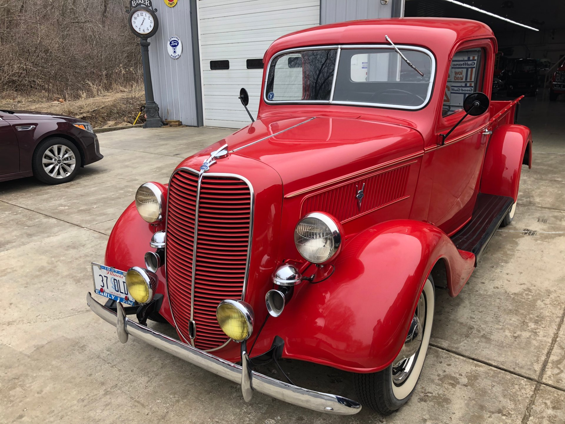 1937 ford deluxe pickup