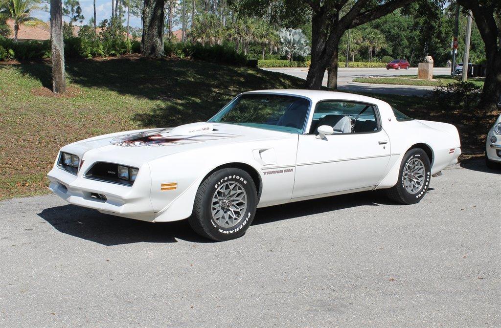 1978 pontiac trans am coupe