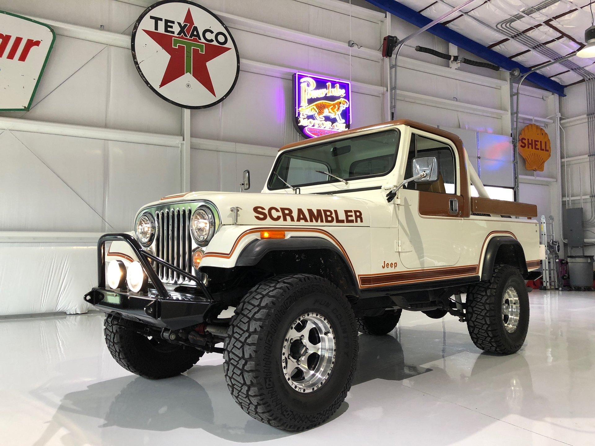 1981 jeep scrambler 4wd sport utiilty
