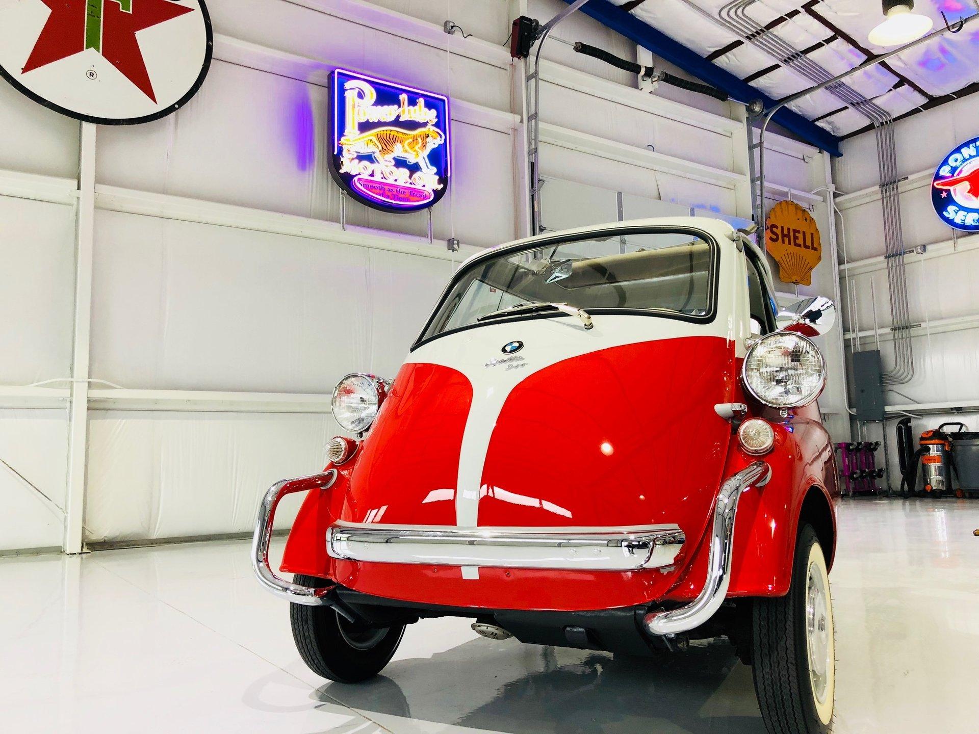 1957 bmw isetta coupe
