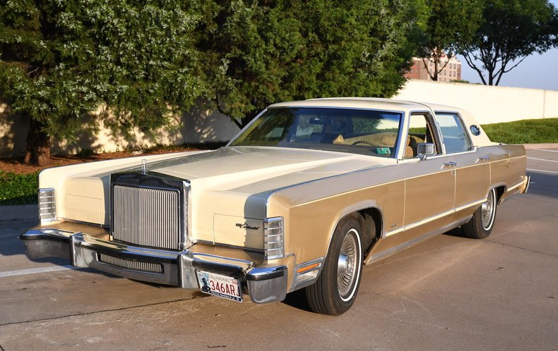 1979 Lincoln Continental Premier Auction