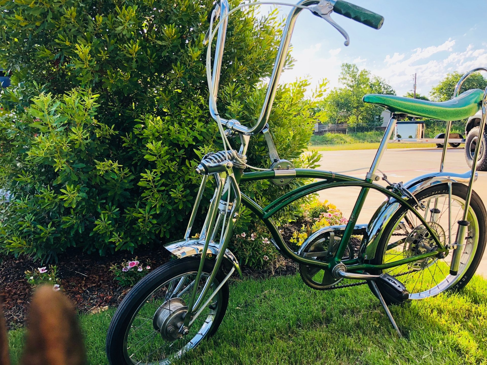 1970 schwinn pea picker bicycle