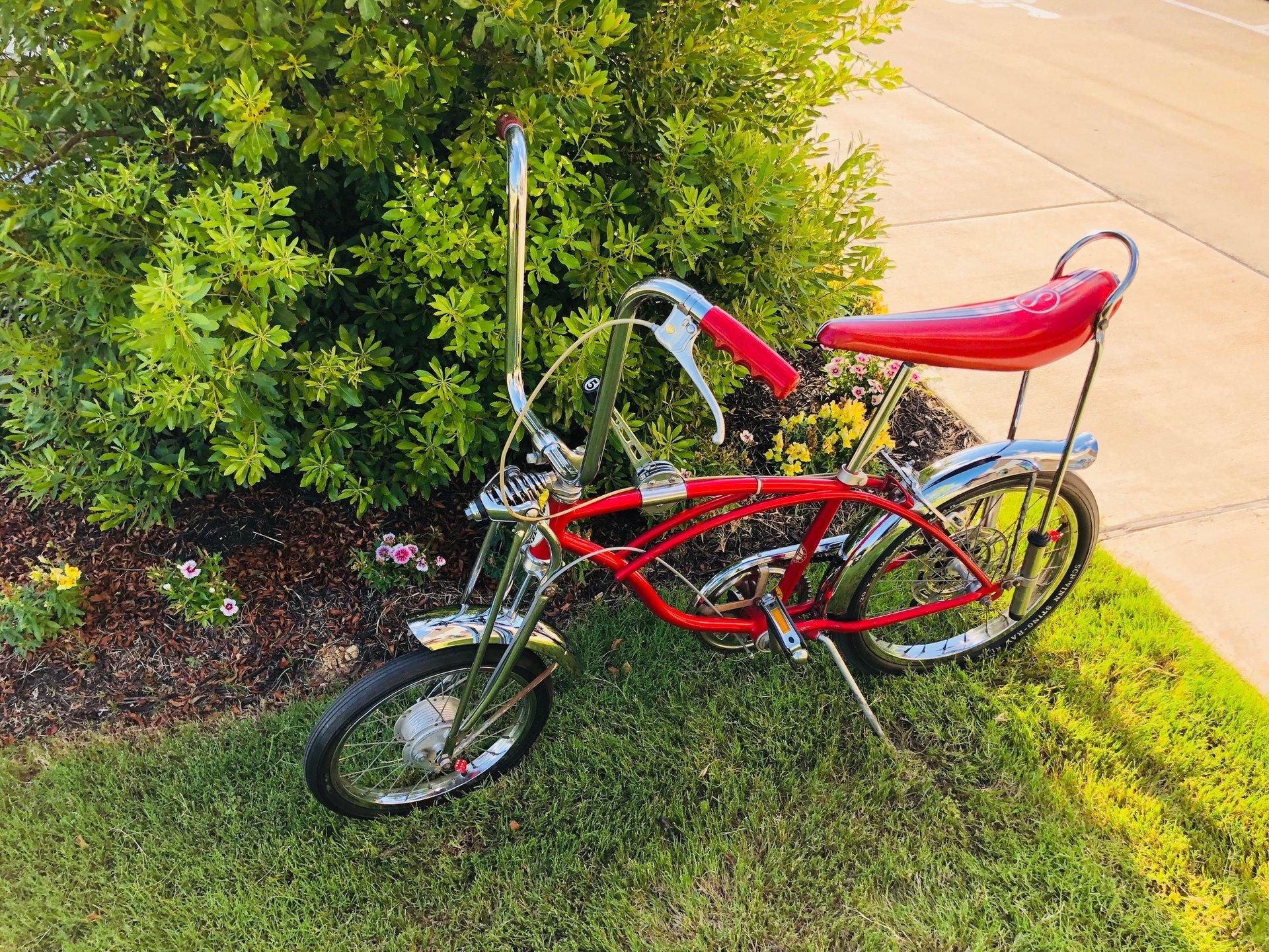 1970 schwinn apple krate bicycle