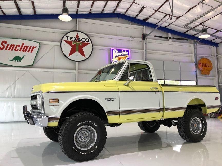 1970 chevrolet k series 4x4 cst pickup