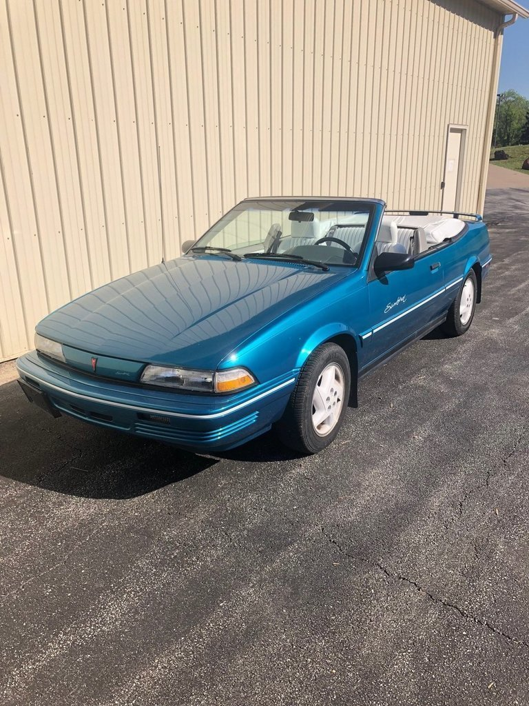 1994 pontiac sunbird convertible