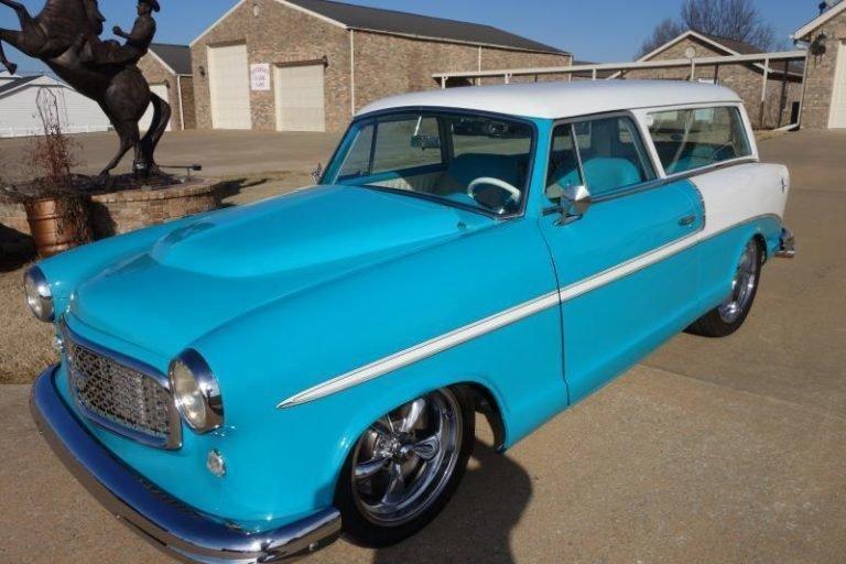 1959 rambler american restomod wagon