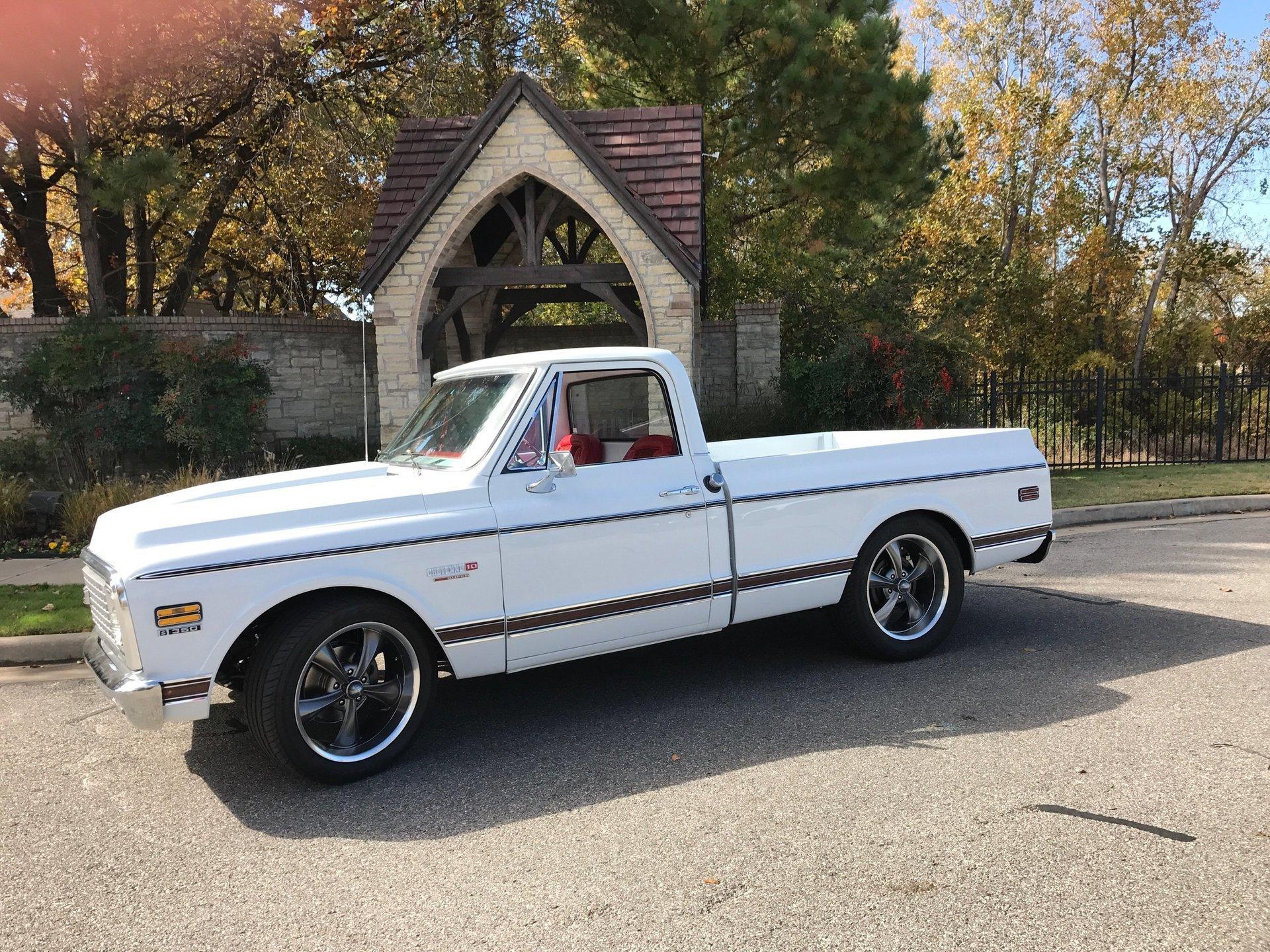 1972 chevrolet c10 restomod pickup