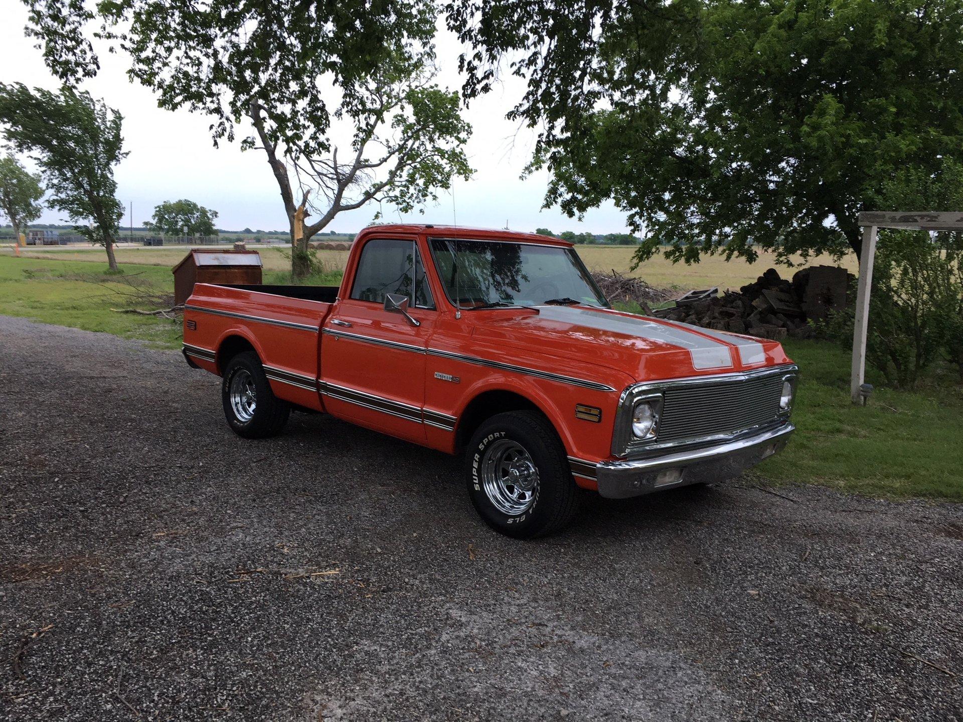 1972 chevrolet cheyenne c10 shortbed pickup