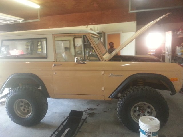 1976 ford bronco sport utility