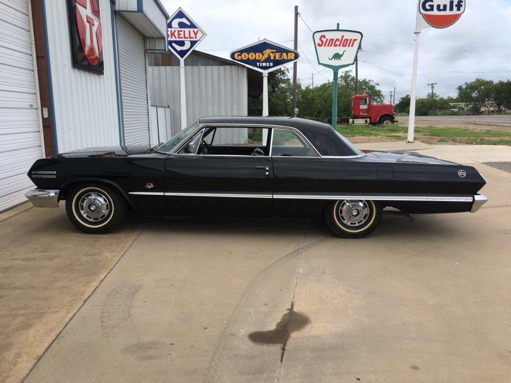 1963 chevrolet impala ss 409 hardtop