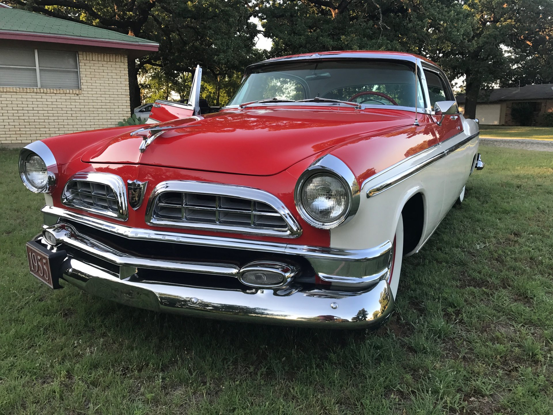 1955 chrysler new yorker deluxe st regis hardtop