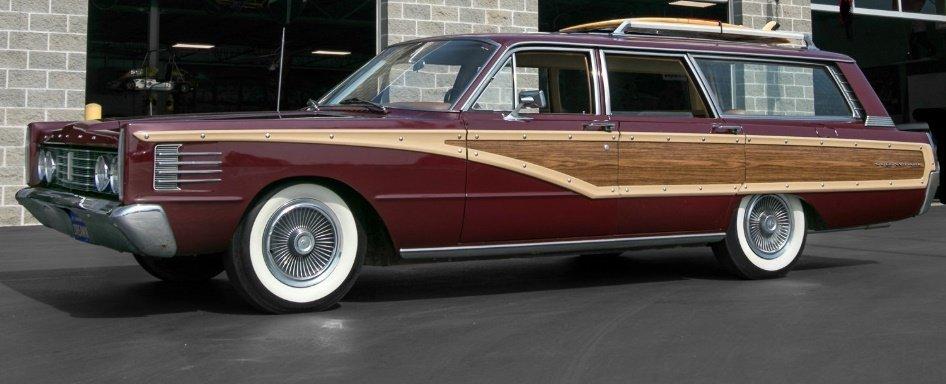 1965 mercury colony park station wagon