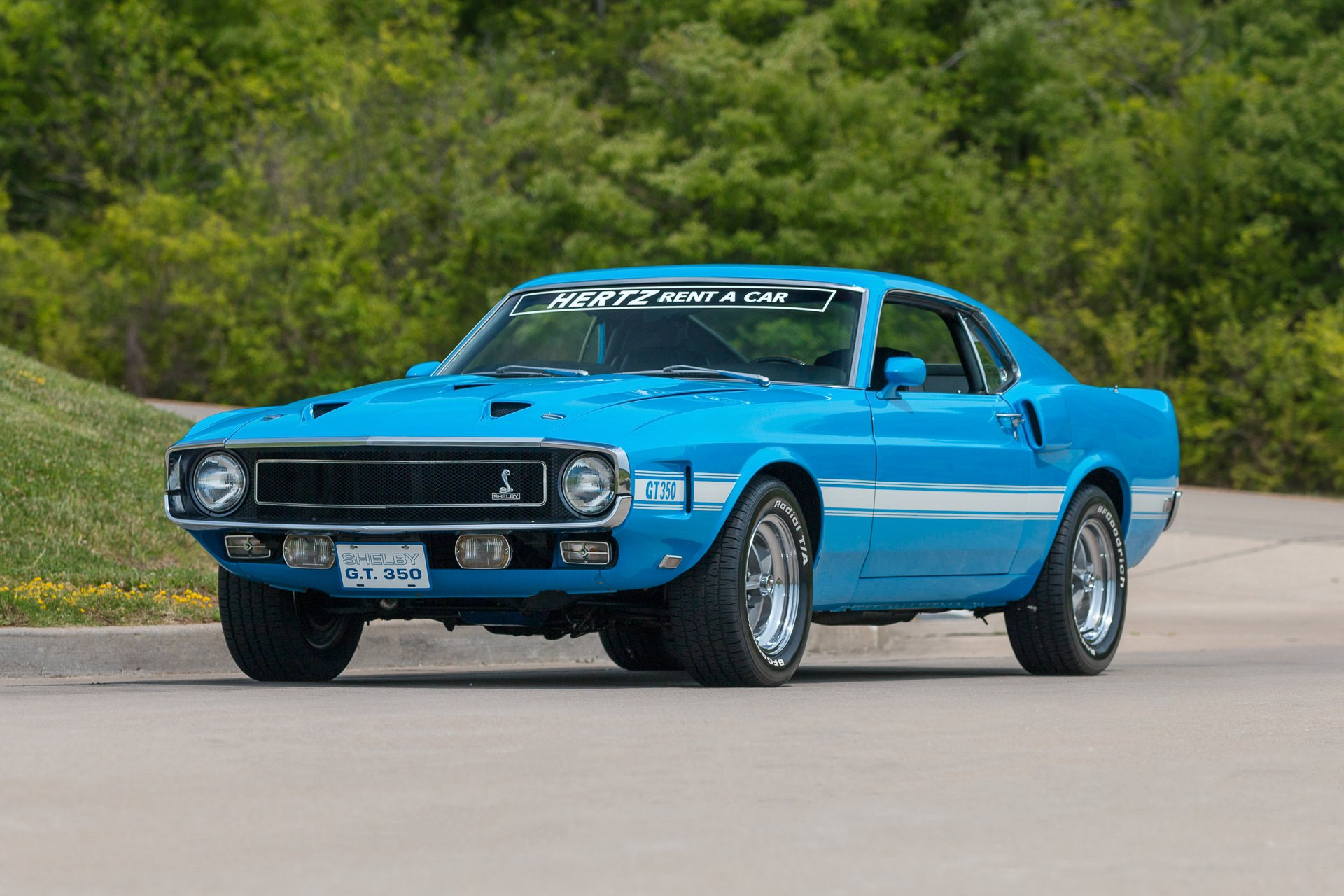 1969 ford shelby gt 350 hertz fastback